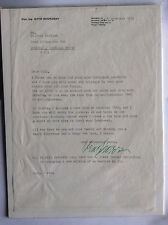 SIGNED OTTO SKORZENY Battle of the Bulge OPERATION GRIEF Waffen*Mussolini*w COA