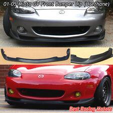 GV Style Front Bumper Lip (Urethane) Fits 01-05 Mazda Miata