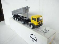 NEW Conrad 363359 MAN TG-A Tractor w/Kogel Dump Trailer Baumassig stark 1/50 new