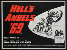 HELL'S ANGELS '69 SONNY BARGER MOTORCYCLE BIKER GANG 1969 BRITISH QUAD