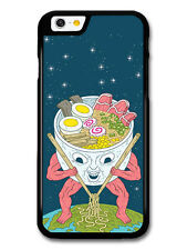 Ramen Alien with Noodle Soup Weird Funny Japanese case for iPhone 6 6S