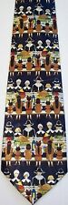 NEW! Thanksgiving Pilgrims and Natives Holiday Feast Novelty Necktie #1037-L