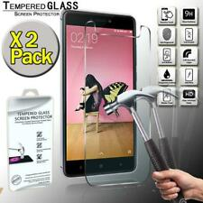 2 Pack Genuine Tempered Glass Screen Protector For Xiaomi Redmi Note 4X