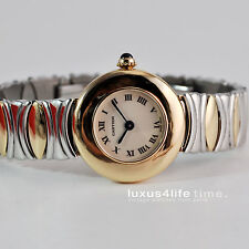 Cartier Baignoire Coudree 18Kt Gold, revidiert, Cartier Box, Belle Epoque ST/GG