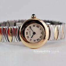 Cartier Baignoire Coudree 18Kt Gold, revidiert, Cartier Box, Belle Epoque ST/GG