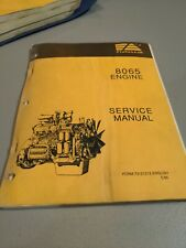 Fiat Allis 8065 Engine Service Shop Manual