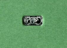 Standing Buffalo .999 Fine Silver Bar One Gram