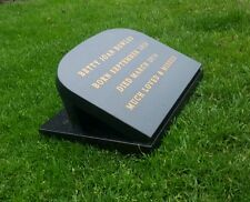 Granite Memorial Plaque Engraved Personalised Headstone Grave Marker.headstone.