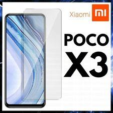 PELLICOLA IN VETRO TEMPERATO PER XIAOMI POCOPHONE POCO X3 NFC PROTEZIONE DISPLAY