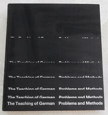 """GERMAN LANGUAGE TEXT BOOK """"Teaching of German Problems and Methods"""" by Reichmann"""