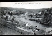 BOUILLON (BELGIQUE) USINE SCIERIE , VILLAS & PONTS début 1900