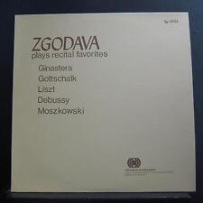 Zgodava - Plays Recital Favorites LP Mint- TR-1001 Private MN Piano Record