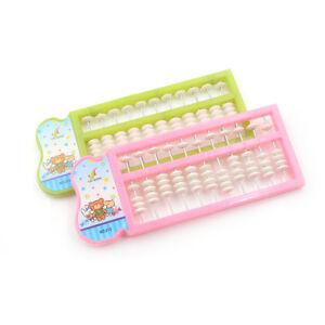 Plastic Abacus Arithmetic Tool Kid's Math Learn Aid Caculating Toys Gi-SL BI