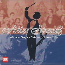 Everything STRAUSS-with the large SALON ORCHESTRA VIENNA-CD