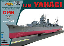 Japanese Cruiser IJN Yahagi paper model 1:200 huge 87cm