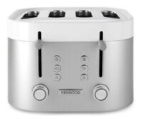 Kenwood TFM400TT KSense 4 Slice Toaster - Silver