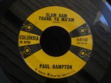 COLUMBIA 4-41145 ROCKABILLY PAUL HAMPTON LIVE A LIFE OF LOVE SLAM BAM THANK YOU
