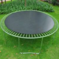 "Weather Proof Trampoline Mat 10.6' Dia. For 12ft Round Frame 60 Ring 5.5"" Spring"