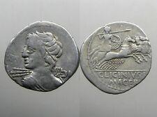 Licinia 16 Silver Denarius_Roman Republic_Wrote The History Of Rome