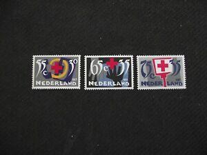Netherlands  1987   Dutch Red Cross     MNH set.
