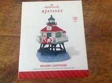 Hallmark Keepsake Ornament 2014 Holiday Lighthouse 3rd #3 Series Magic Light NIB