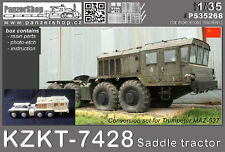KZKT-7428 Saddle Tractor CCCP resin conversion 1/35 PanzerShop Trumpeter PS35268