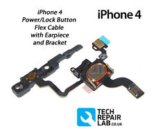 NEW Complete Replacement Power/Lock Button/Switch with Earpiece/Bracket iPhone 4