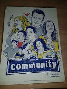 Community  - Limited Edition Screen Print by Joshua Budich nt Mondo