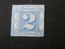 GERMANY, THURN & TAXIS. NORTHERN DISTRICT, SCOTT # 31, 2sgr VALUE BLUE 1866 USED