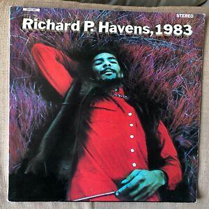RICHARD P. HAVENS , 1983   EX- DOUBLE VINYL LP / VERVE 1969 / First 1st pressing