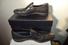 CHAUSSURE DE LUXE PRADA TAILLE 44 SHOES/ZAPATOS/SCARPE CUIR/LEATHER UK 10 BOITE