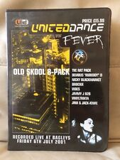 United Dance Vs. Fever @ Bagleys Old Skool Tape 8 Pack 2001 Hardcore Rave RARE