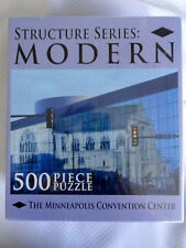 NEW STRUCTURE SERIES MODERN THE MINNEAPOLIS MN CONVENTION CENTER 500 pcs PUZZLE