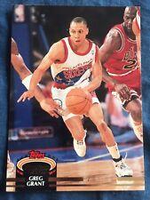 1993 Topps Stadium Club NBA Basketball Card #225 Greg Grant Philadelphia 76ers