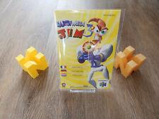 PAL N64: Earthworm Jim 3d Manual Only French German Dutch Nintendo 64