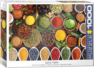 Spicy Table 1000 Piece Puzzle by Eurographics