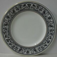 """Wedgwood  FLORENTINE BLACK W4312  Luncheon Plate (9"""") BEST! More Available"""