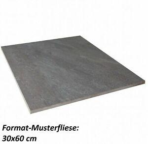Muster V& B 2. Wahl My Earth Outdoor 80x80x2 Terrassenplatte anthrazit matt R11