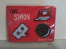"""Love, Simon"" Katherine Langford Film Enamel Pin Badges"
