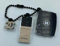 CHANEL charm on small chain key with cute little logo NEW LE 2018 VIP GIFT