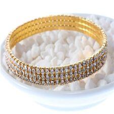 Effect Wedding Zircon Prom Bridal Party Trendy Stretch Bracelet Anklet Crystal