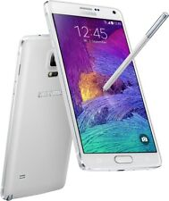 "Samsung Galaxy Note 4 weiß 32GB 5,7"" LTE Android Smartphone ohne Simlock 16 MPX"