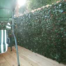 Artificial Leaf Neighbor Privacy Fence Panel Faux Ivy Yard Garden Fencing Screen