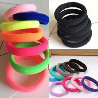 Trend 20 Women Girl Lady Hair Band Ties Elastic Rope Ring Hairband Ponytail Favo