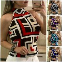 Fashion Ladies Summer Slim Vest Top Sleeveless Casual Blouse Tee Tops T-Shirt