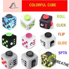 Fidget Cube Anxiety Stress Relief Focus Attention Therapy Adult Kid Joyful Gift