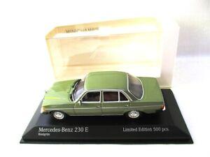 Mercedes 230E  1982  Grey/Green  Minichamps  943032204  RARE