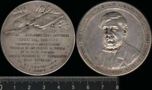 Argentina: 1918 Doctor Pastor Obligado Constante Rossi  medal. 41.68g