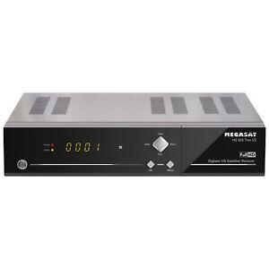 """Megasat Twin-Sat-Receiver HD 935 Twin V2, mit 2,5""""-Festplatteneinschub, 1080p/Fu"""