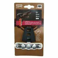Selle Royal, LED Batterie Rücklicht, für Sattelclip,Cateye,5 LED`s, NEU / TOP